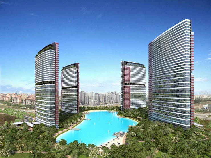 CCT 102 PROJECT IN BAHCESEHIR Modern Evler CCT INVESTMENTS Modern