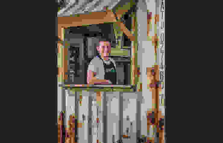 Kornuit   Brand Activation Down the Rabbit Hole 2014 Industriële gastronomie van Studio Linda Franse Industrieel