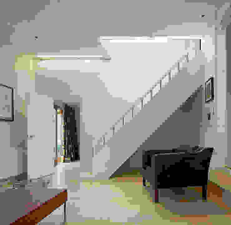Staircase Modern corridor, hallway & stairs by Neil Dusheiko Architects Modern