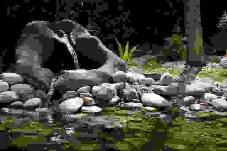 Jardin del estanque de La Paisajista - Jardines con Alma Mediterráneo