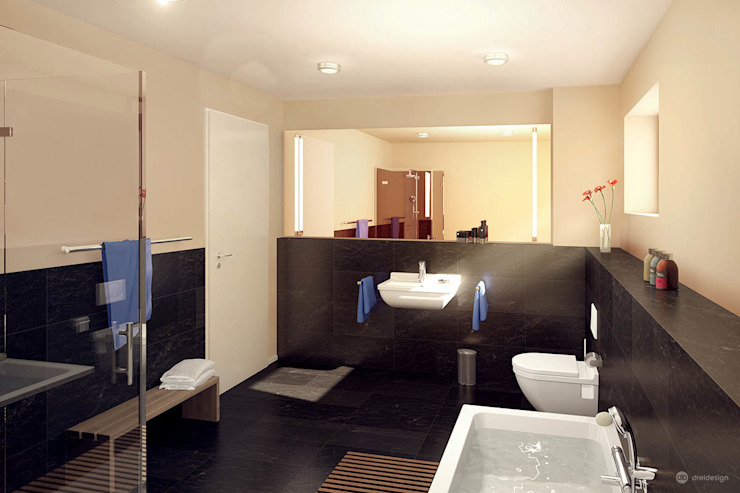 dreidesign Modern bathroom