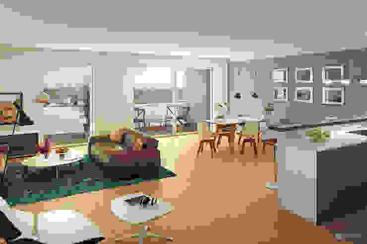 dreidesign Modern Living Room