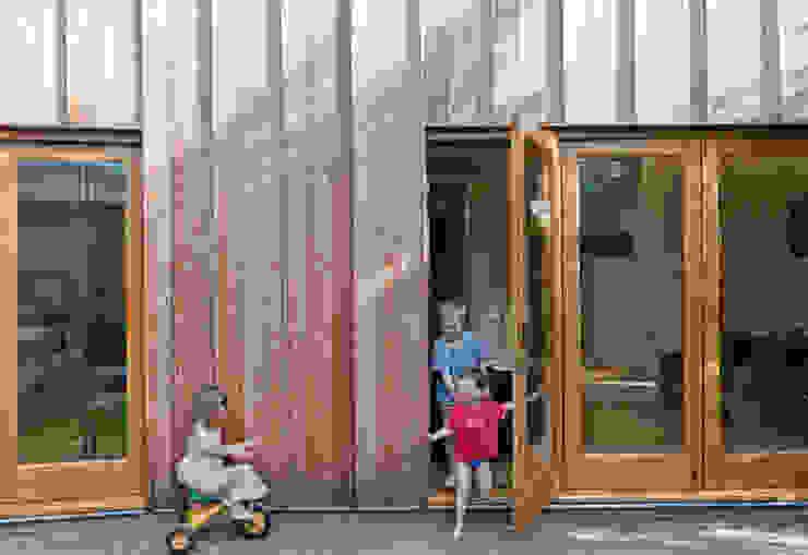 Rear Elevation Modern houses by Neil Dusheiko Architects Modern