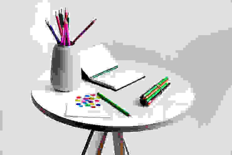 A Table - white: modern  by ByALEX, Modern
