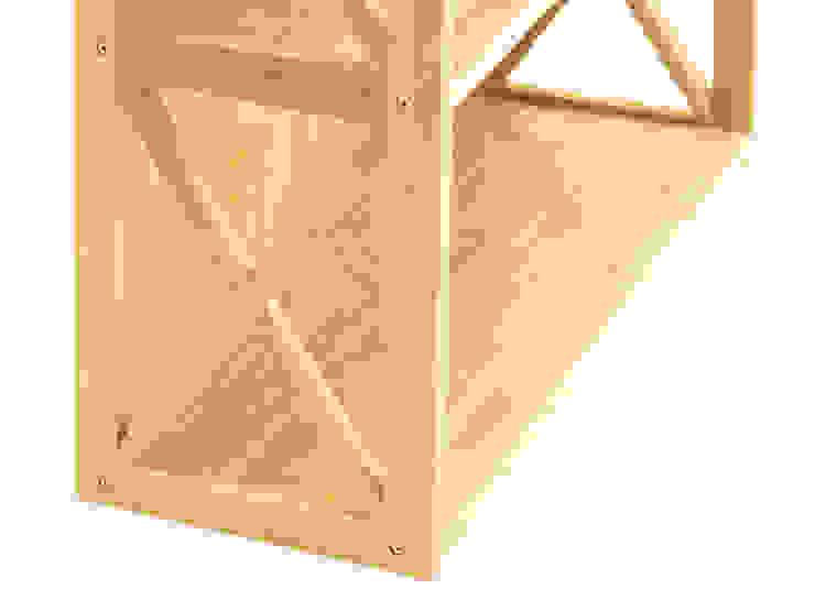Stackable Bookcase, 5 Book Shelves de Finoak LTD Moderno