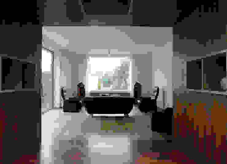doorkijkkast Moderne woonkamers van 3d Visie architecten Modern