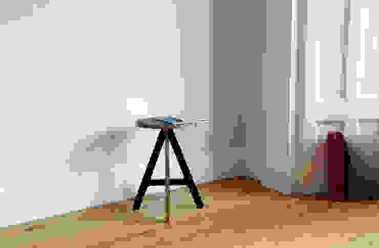 A Stool - black: modern  by ByALEX, Modern