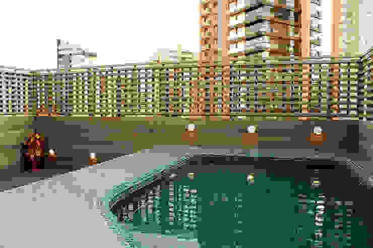 Apartamento Klabin Piscinas modernas por ODVO Arquitetura e Urbanismo Moderno