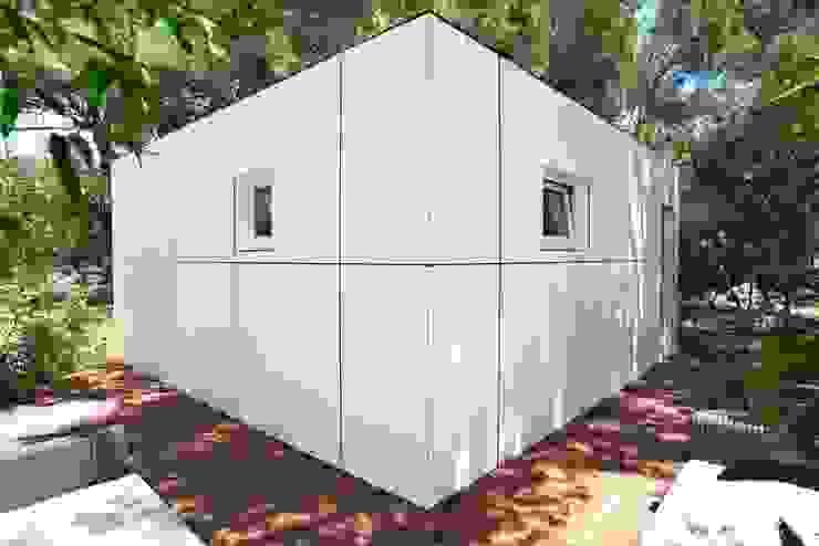 Moderne spa's van SQUARE Saunahaus Modern