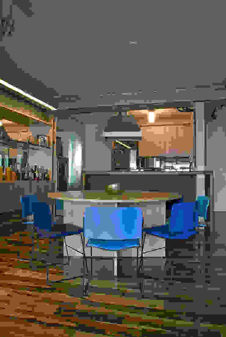 Interior | Apartamento – IV Salas de jantar modernas por ARQdonini Arquitetos Associados Moderno