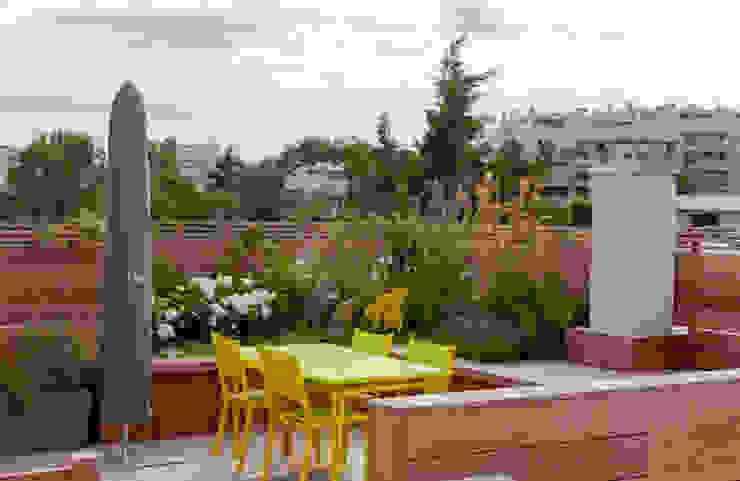 Modern balcony, veranda & terrace by AD Concept Gardens Modern