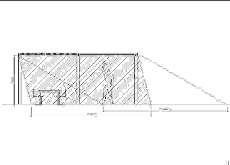 Bocetos para el diseño de la pérgola de mobla manufactured architecture scp