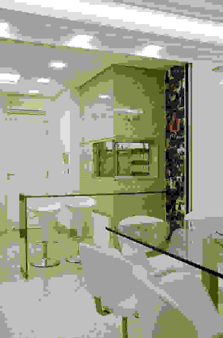 Apartamento Cond. Solar do Mar Salas de jantar modernas por Mantovani e Rita Arquitetura Moderno