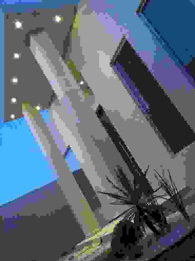 Entrada Espacios comerciales de estilo minimalista de Guiza Construcciones Minimalista