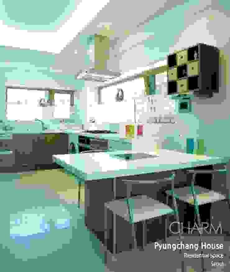 평창동 주택 모던스타일 주방 by 참공간 디자인 연구소 모던
