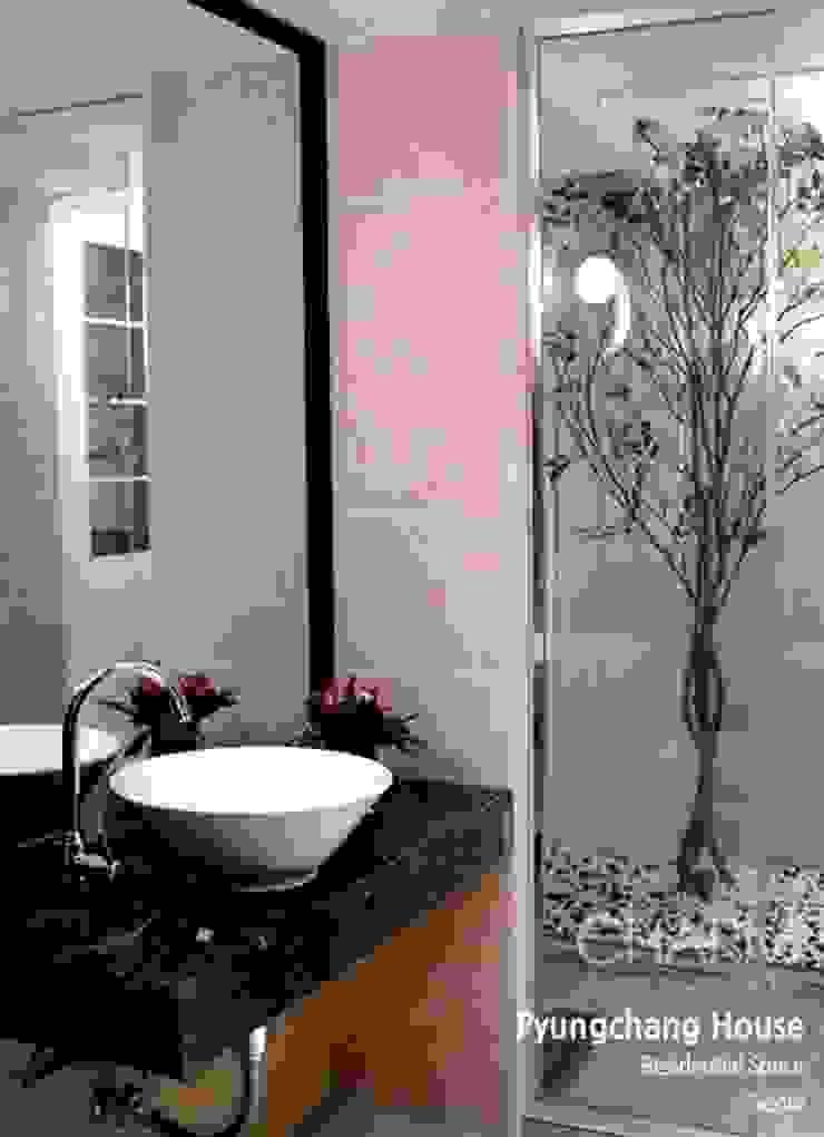 평창동 주택 모던스타일 욕실 by 참공간 디자인 연구소 모던
