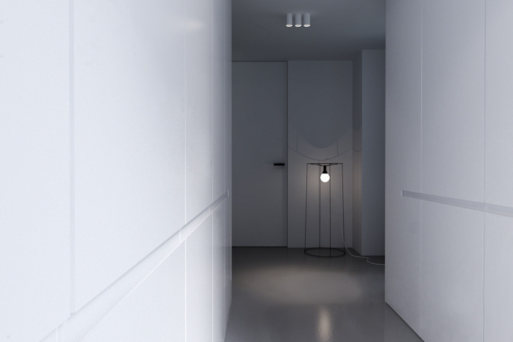 Minimalist dressing room by KUOO ARCHITECTS Minimalist