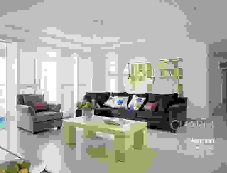 Salas de estilo moderno de 참공간 디자인 연구소 Moderno