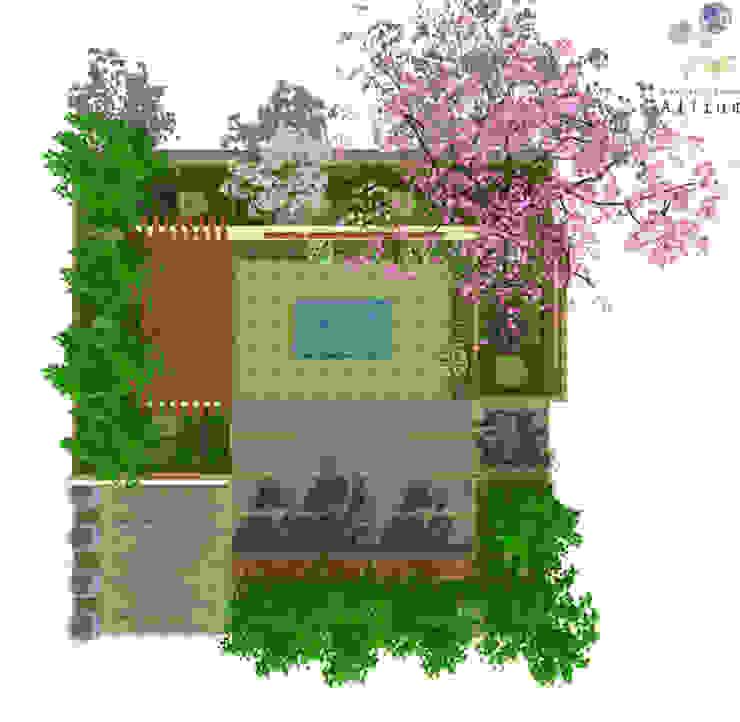 2014 경기정원문화 박람회 제안서 모던스타일 정원 by Garden Studio Allium 모던