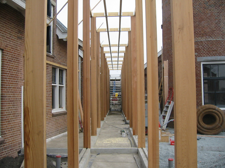 KNSF Amstelveen Moderne kantoorgebouwen van Axel Grothausen BNI Modern