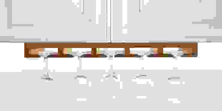 Hanging Glass Rack and Wine Bottles Holder: modern  by Finoak LTD, Modern