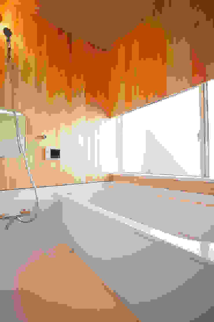 K-House 一級建築士事務所オブデザイン モダンスタイルの お風呂