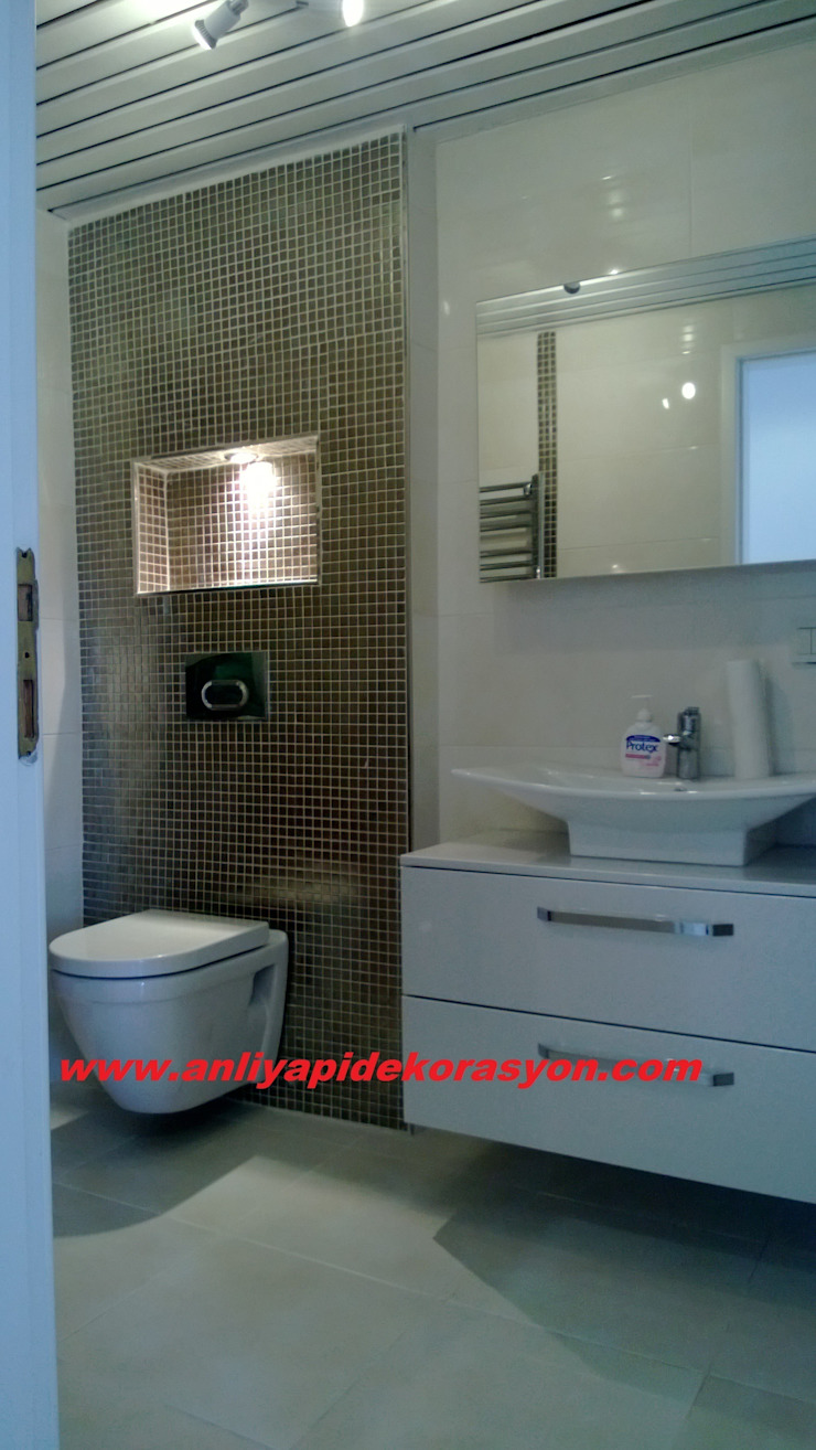 anlı yapı dekorasyon Modern Banyo anlı yapı dekorasyon Modern