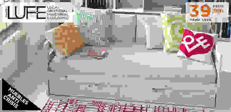 Cama sofá de Muebles LUFE Escandinavo