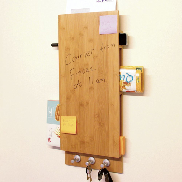 Noticeboard, Keys & Letters Holder de Finoak LTD Moderno