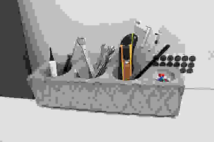 Органайзер / карандашница из бетона Archiboss от Owner /designer Лофт