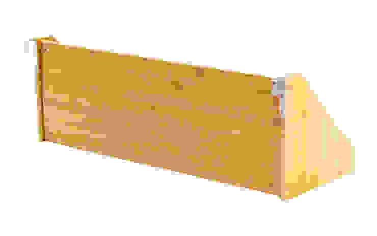 Bed Hanging Book Shelf: modern  by Finoak LTD, Modern