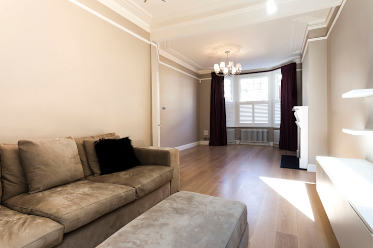 Living Room Modern living room by Affleck Property Services Modern