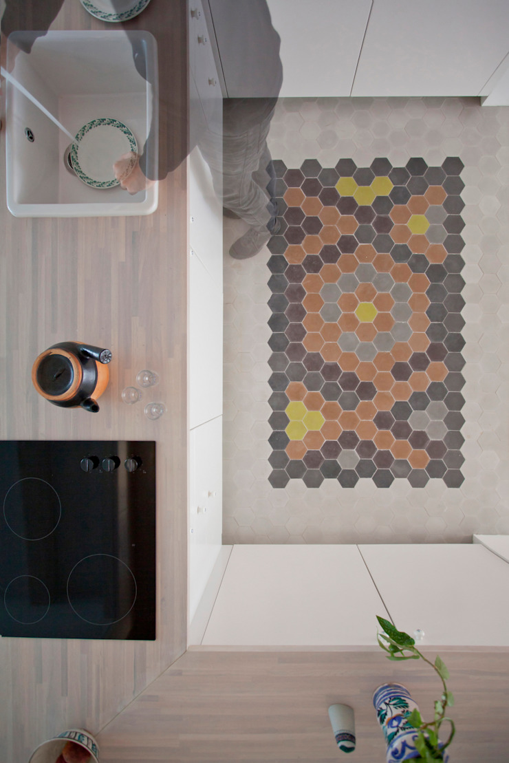 THE APPARTEMENT Minimalist kitchen by Bureau A Minimalist