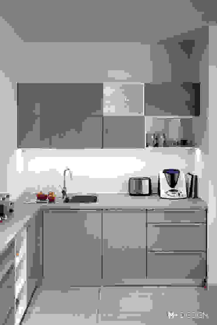 M+ DESIGN Marta Dolnicka Marchaj Minimalist kitchen
