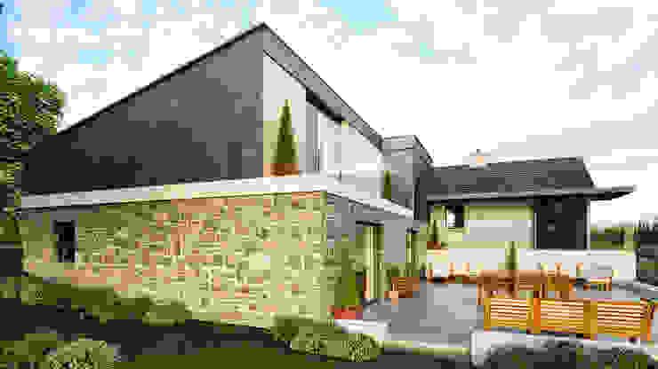 Lough Ross House, Crossmaglen, Modern houses by Slemish Design Studio Architects Modern
