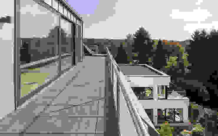Modern balcony, veranda & terrace by Skandella Architektur Innenarchitektur Modern
