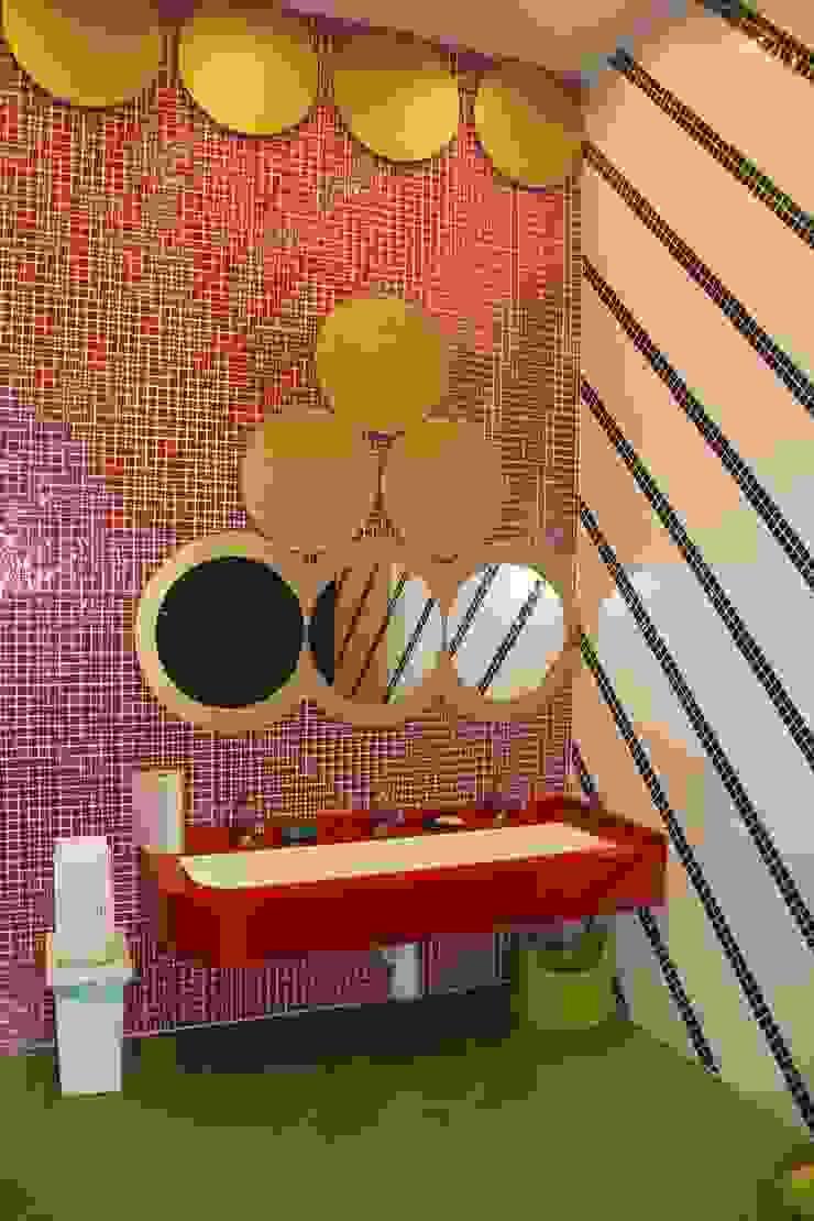 детский сан. узел Ванная комната в эклектичном стиле от Anna Vladimirova Эклектичный