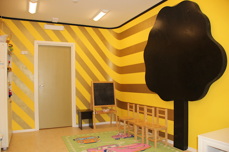 Кабинет для занятий Рабочий кабинет в эклектичном стиле от Anna Vladimirova Эклектичный