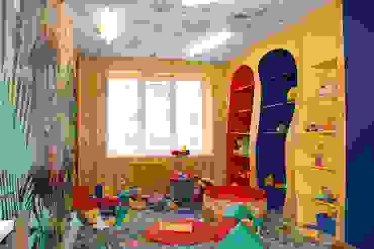 Детский садик <q>СЕМА</q> Детские комната в эклектичном стиле от Anna Vladimirova Эклектичный