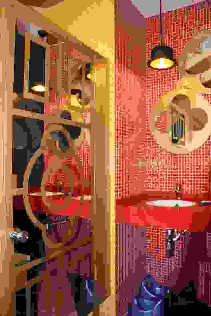 сан. узел для взрослых Ванная комната в эклектичном стиле от Anna Vladimirova Эклектичный
