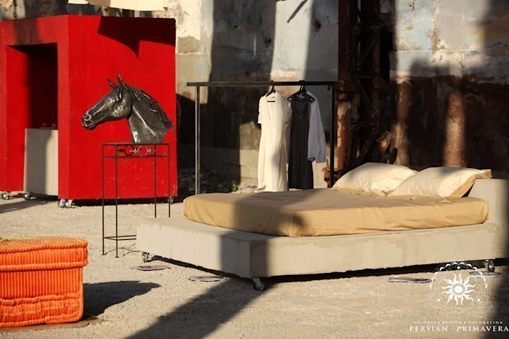 ミニマルスタイルの 寝室 の Persian Primavera ミニマル