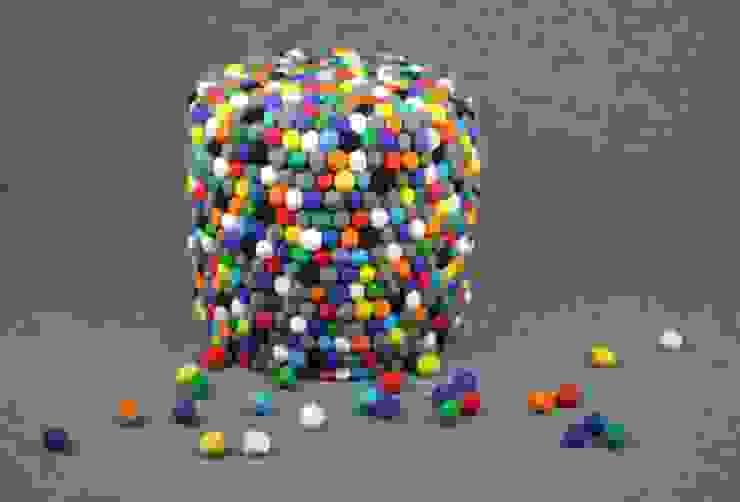 pufa okrągła happy pills od felt stories Nowoczesny