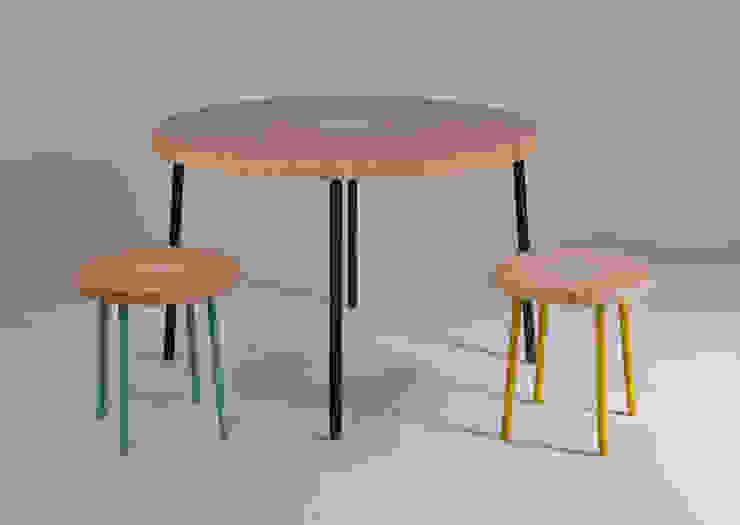 Twisted Table Moderne kantoorgebouwen van Studio Erwin Zwiers Modern