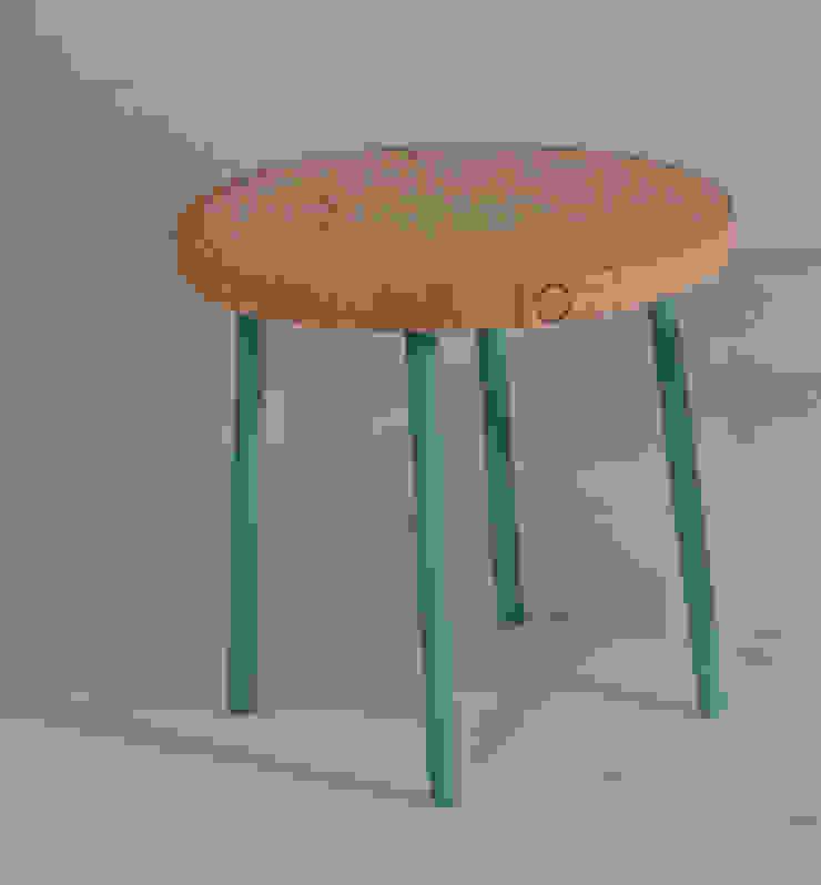 Twisted Table Moderne woonkamers van Studio Erwin Zwiers Modern