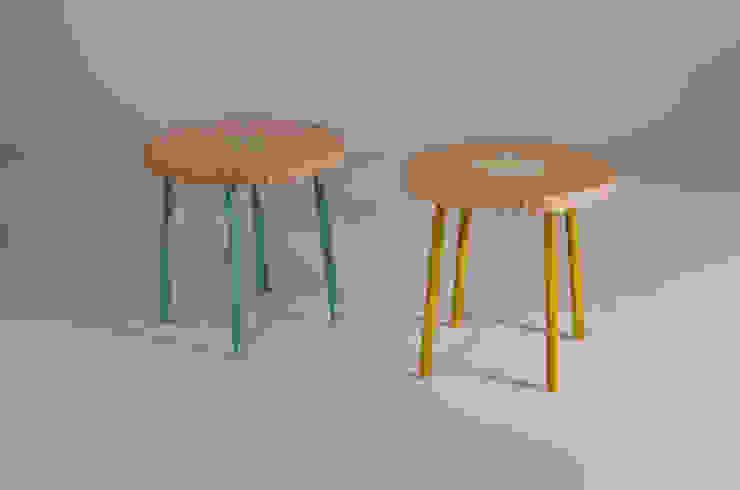 Twisted Tables Moderne kantoorgebouwen van Studio Erwin Zwiers Modern