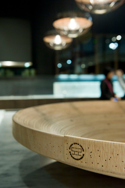 Twisted Bowl Poliform stand Salone Del Mobile 2012 Moderne hotels van Studio Erwin Zwiers Modern