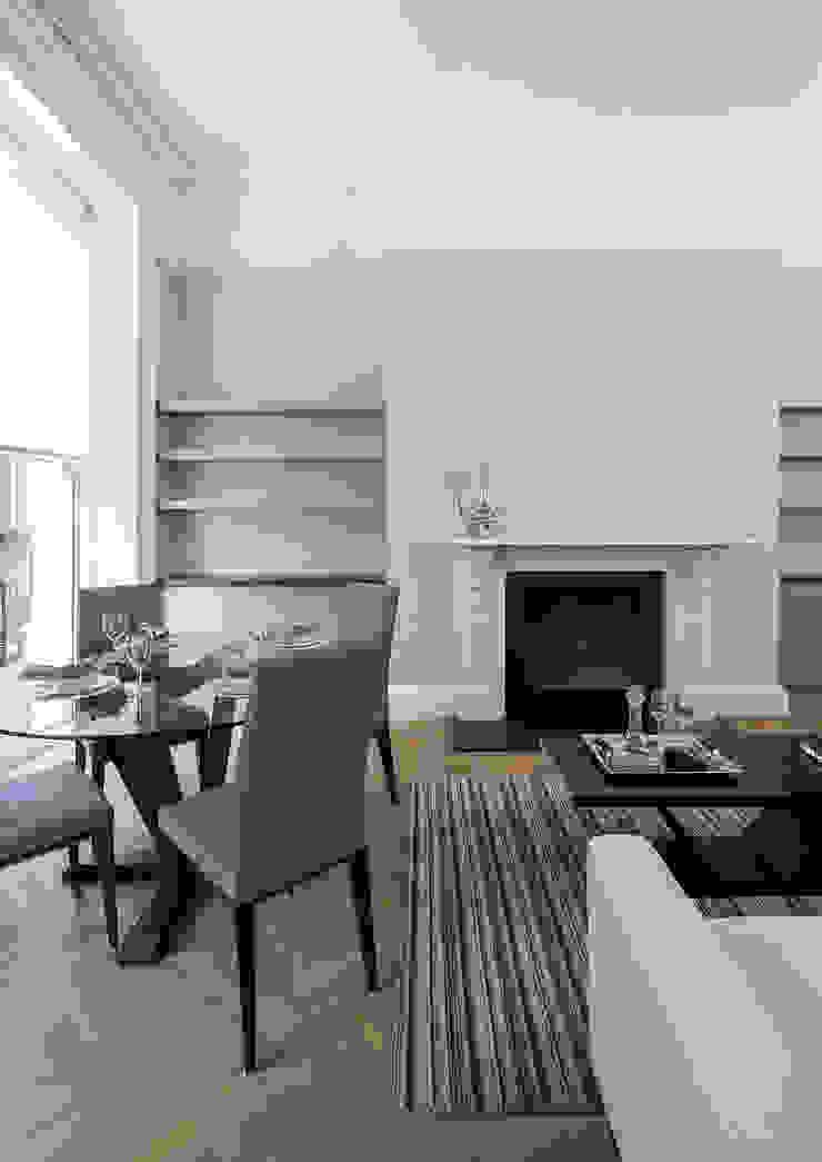 122 Harley Street Sonnemann Toon Architects Klasyczny salon