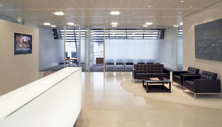 Alcentra London Minimalist office buildings by Sonnemann Toon Architects Minimalist