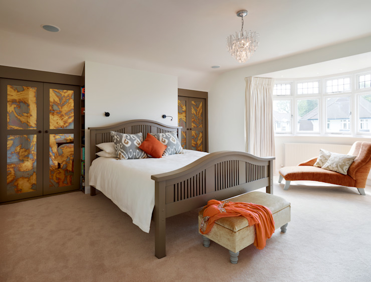 Bedroom - bespoke cabinetry Classic style bedroom by ZazuDesigns Classic