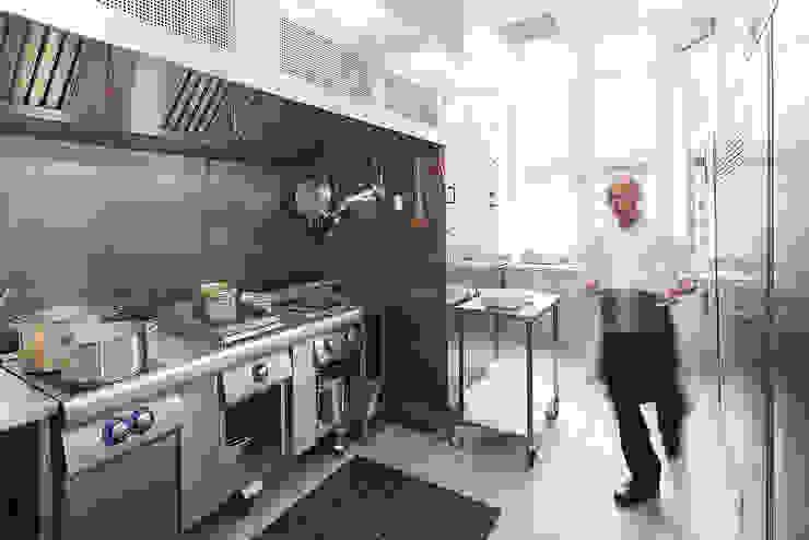 Staff Canteen by Sonnemann Toon Architects Modern